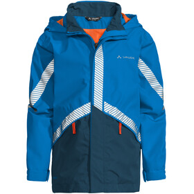 VAUDE Luminum II Jacket Kids radiate blue